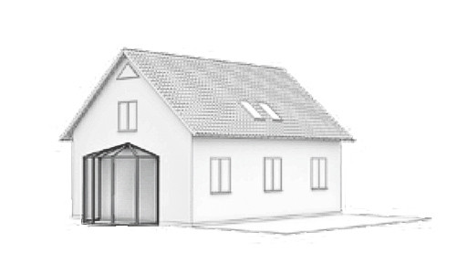 Wintergarten Dachform-Typ-B-2