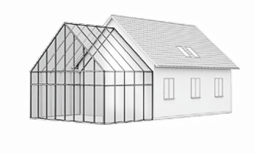 Wintergarten Dachform-Typ-C-2