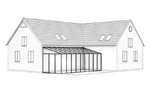 Wintergarten Dachform-Typ-D-2
