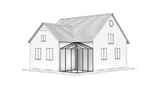 Wintergarten Dachform-Typ-F-2