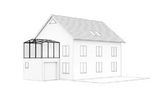 Wintergarten Dachform-Typ-J-3