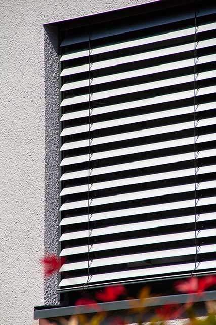Fenster Raffstore Innen