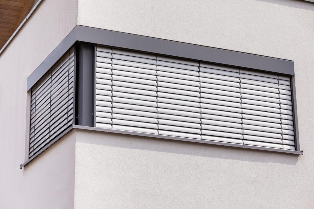 Aussentaffstore Fenster