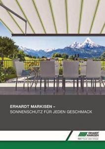 Erhardt Markisen Prospekt