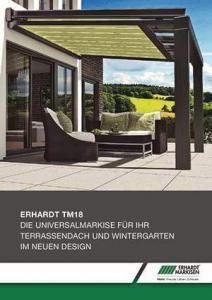 Erhardt TM Wintergartenmarkise Prospekt