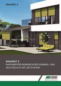 Erhardt Z Senkrechtmarkise