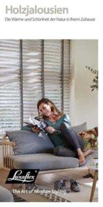 Luxaflex® Broschüre Holzjalousie-einzelseiten